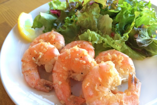Garlic Shrimp 単品 ¥800