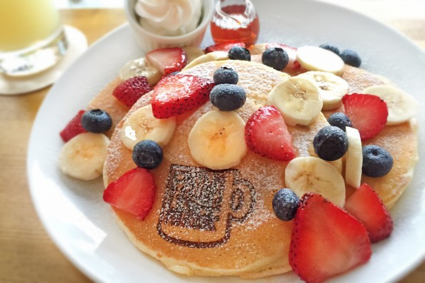 Banana&Berry – Pancake ¥1000