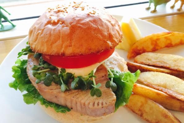 Ahi Burger  ¥1280